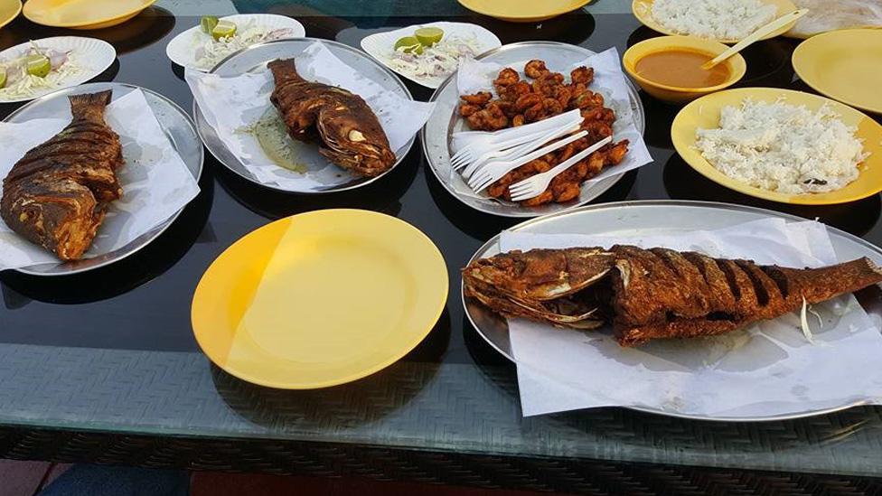Bu Qtair Seafood Restaurant