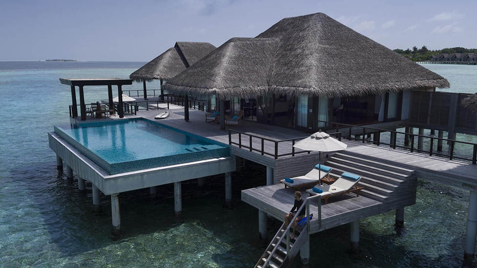 Two Bedroom Overwater Pool Residence at Anantara Kihavah