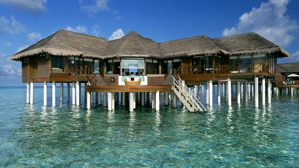 Two Bedroom Ocean Pavilion with Pool at Huvafen Fushi, Maldives