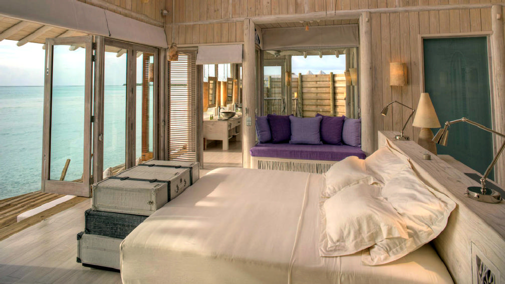 One-bedroom Water Retreat with slide at Soneva Jani, Maldives