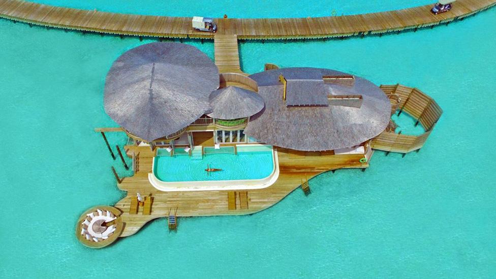 Two Bedroom Water Retreat at Soneva Jani