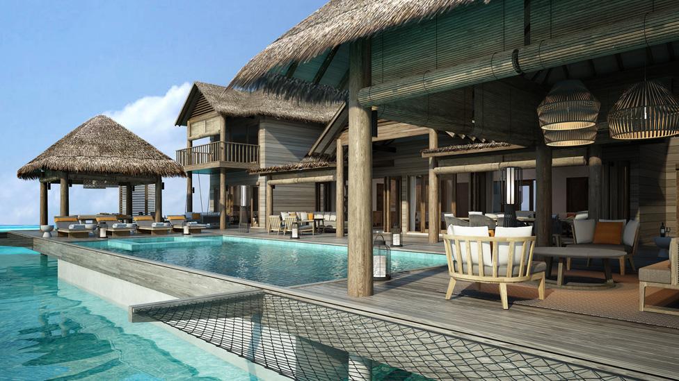 Four Bedroom Overwater Pool Suite at Vakkaru Maldives