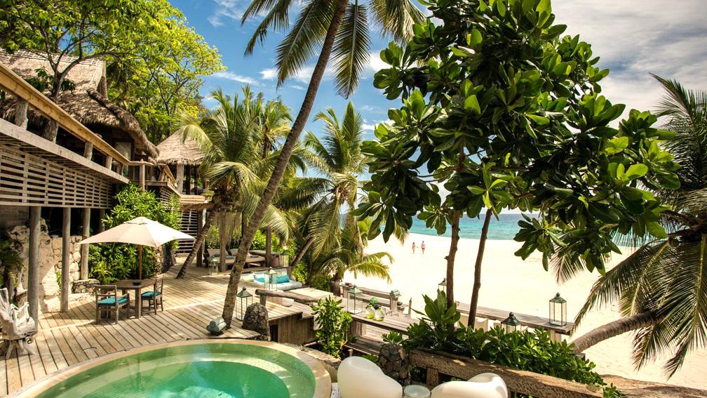 Villa North Island at North Island, Seychelles
